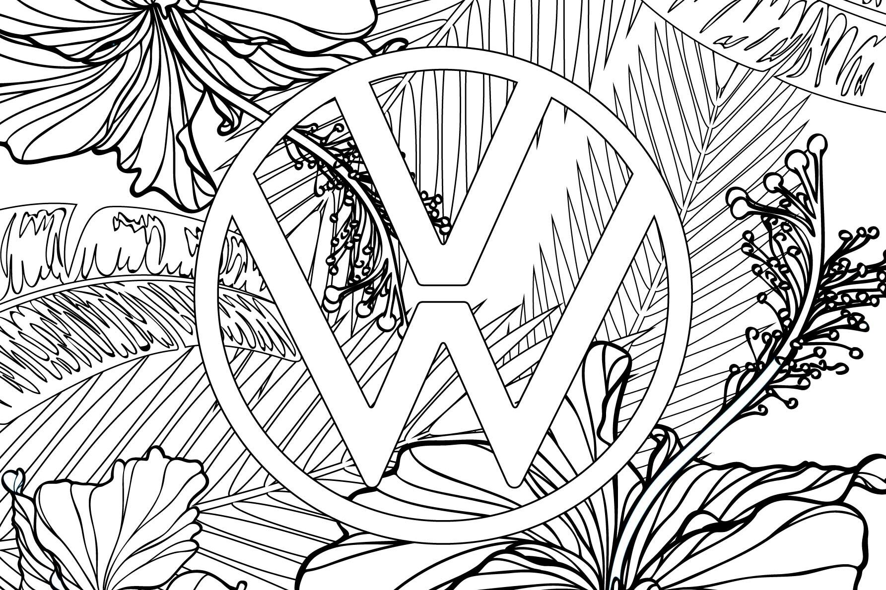 Volkswagen Colouring Book Theme 3 | VW Lifestyle