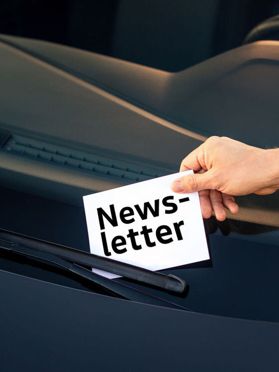 Volkswagen Newsletter Subscriprion